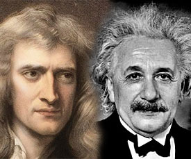 Newton et Einstein remis en cause ?